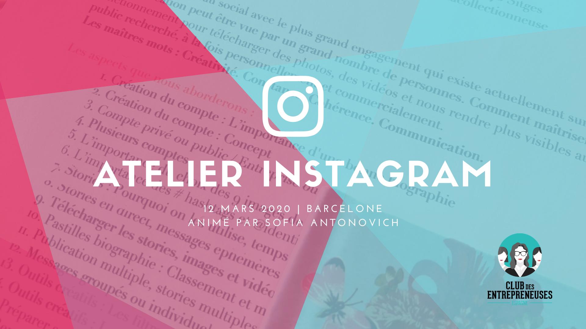 atelier instagram