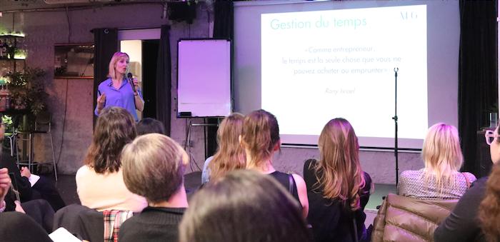 ateliers thematiques - club des entrepreneuses espagne